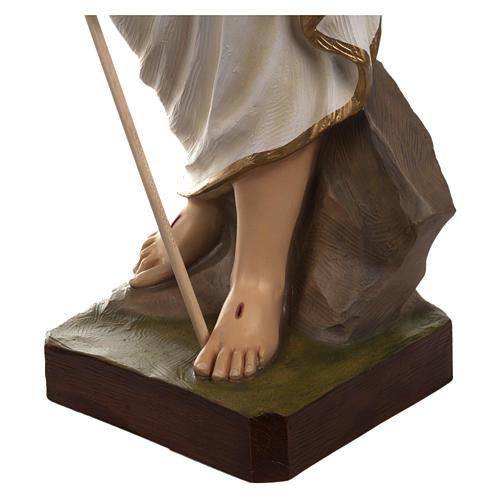 Statua Cristo Risorto fiberglass 85 cm PER ESTERNO 9