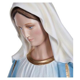 Estatua Virgen Inmaculada fibra de vidrio 130 cm PARA EXTERIOR s5