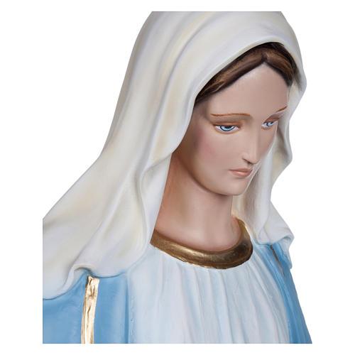 Estatua Virgen Inmaculada fibra de vidrio 130 cm PARA EXTERIOR 9