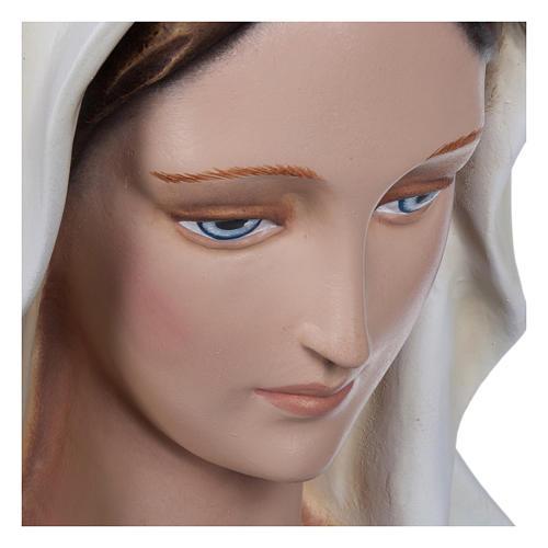 Estatua Virgen Inmaculada fibra de vidrio 130 cm PARA EXTERIOR 10