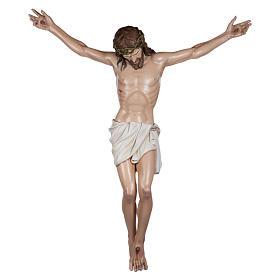 Estatua Cuerpo de Cristo fibra de vidrio 160 cm PARA EXTERIOR s1