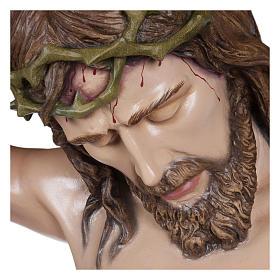 Estatua Cuerpo de Cristo fibra de vidrio 160 cm PARA EXTERIOR s2