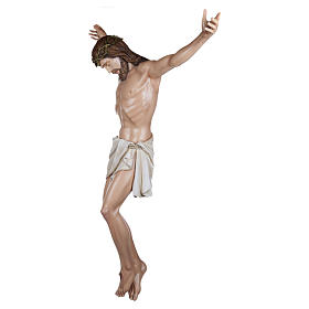 Estatua Cuerpo de Cristo fibra de vidrio 160 cm PARA EXTERIOR s3