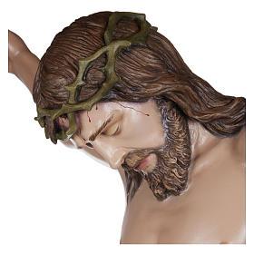 Estatua Cuerpo de Cristo fibra de vidrio 160 cm PARA EXTERIOR s4