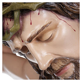 Estatua Cuerpo de Cristo fibra de vidrio 160 cm PARA EXTERIOR s5