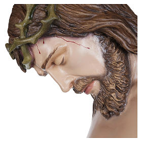 Estatua Cuerpo de Cristo fibra de vidrio 160 cm PARA EXTERIOR s12