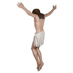 Estatua Cuerpo de Cristo fibra de vidrio 160 cm PARA EXTERIOR s15