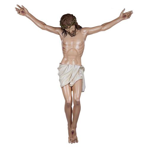 Estatua Cuerpo de Cristo fibra de vidrio 160 cm PARA EXTERIOR 1