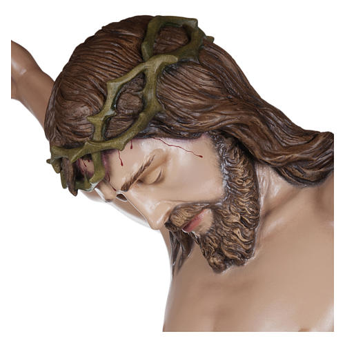 Estatua Cuerpo de Cristo fibra de vidrio 160 cm PARA EXTERIOR 4