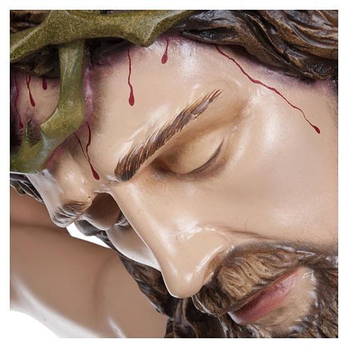 Estatua Cuerpo de Cristo fibra de vidrio 160 cm PARA EXTERIOR 5
