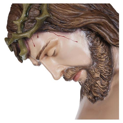 Estatua Cuerpo de Cristo fibra de vidrio 160 cm PARA EXTERIOR 12