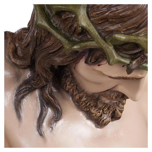 Estatua Cuerpo de Cristo fibra de vidrio 160 cm PARA EXTERIOR 13
