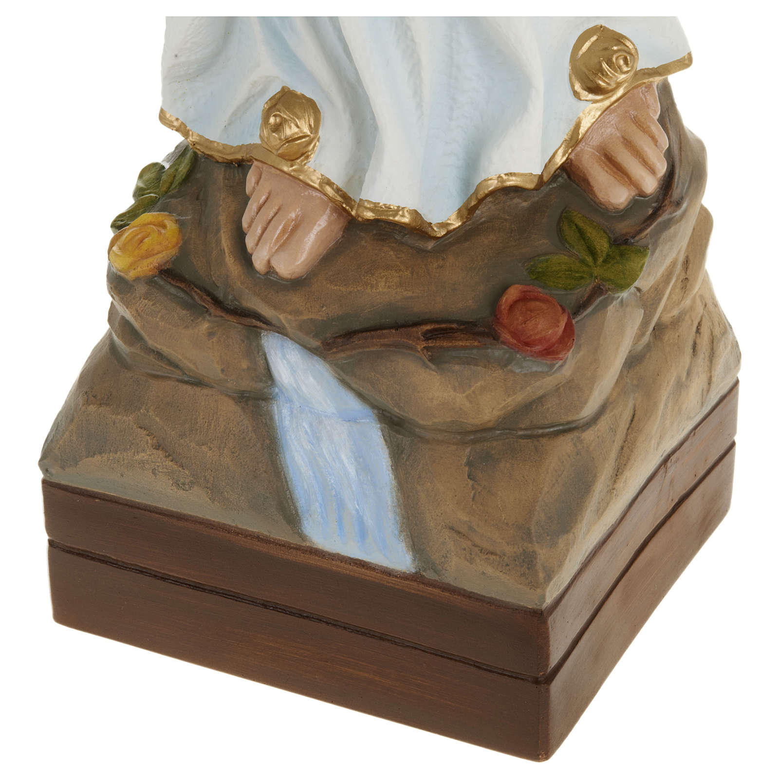 Statua Madonna Lourdes 70 cm fiberglass PER ESTERNO 4