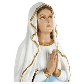 Statua Madonna Lourdes 70 cm fiberglass PER ESTERNO s2