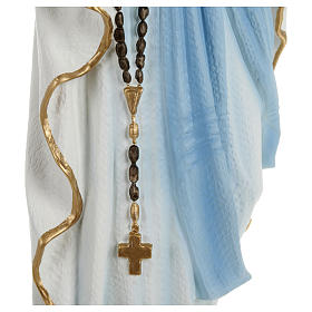 Statua Madonna Lourdes 70 cm fiberglass PER ESTERNO s4