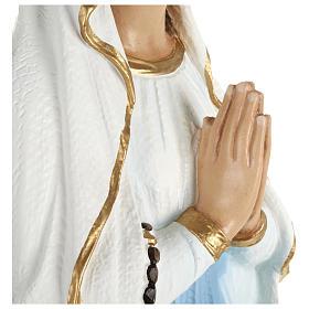 Statua Madonna Lourdes 70 cm fiberglass PER ESTERNO s8