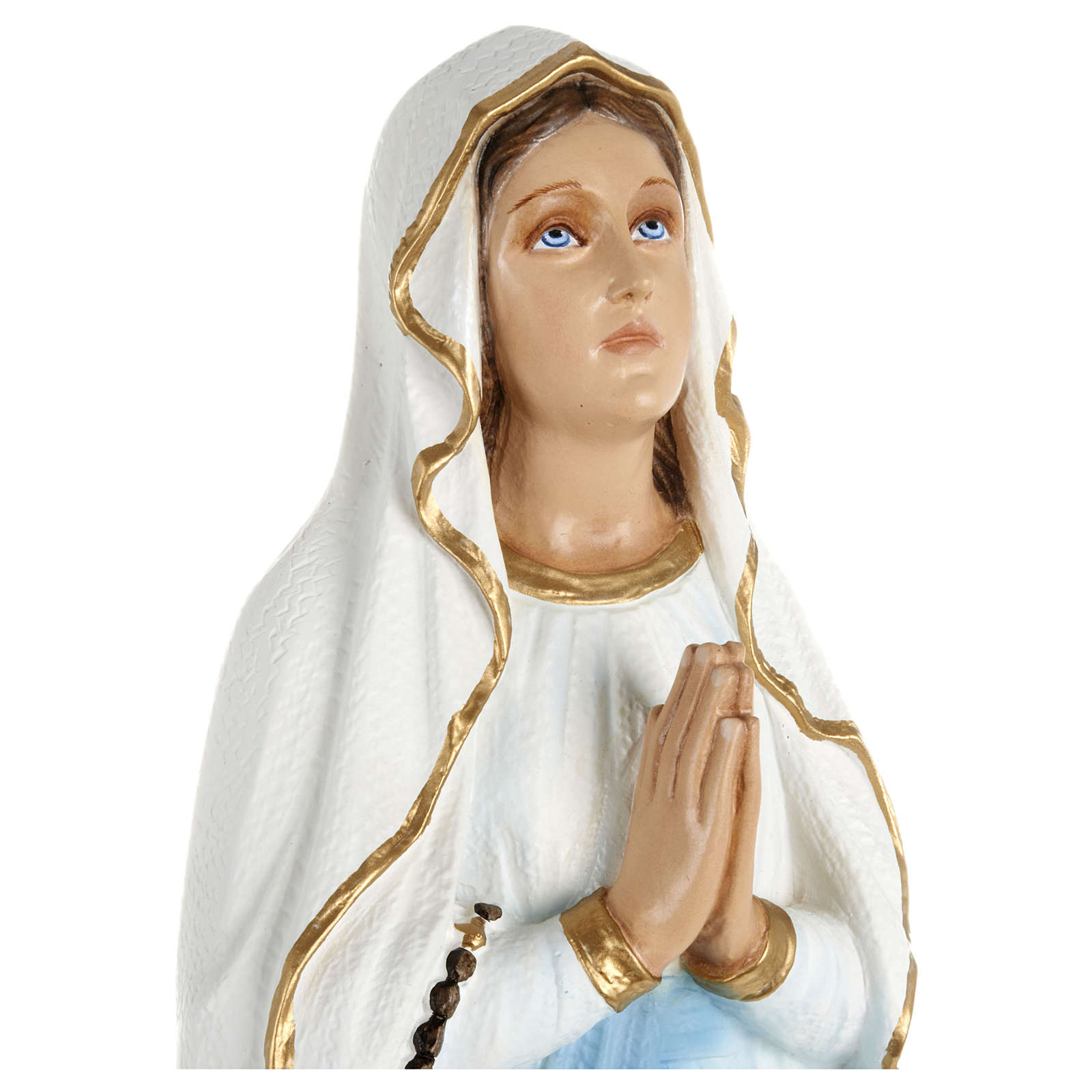 Madonna of Lourdes Statue 70 cm in Fiberglass FOR OUTDOORS 4