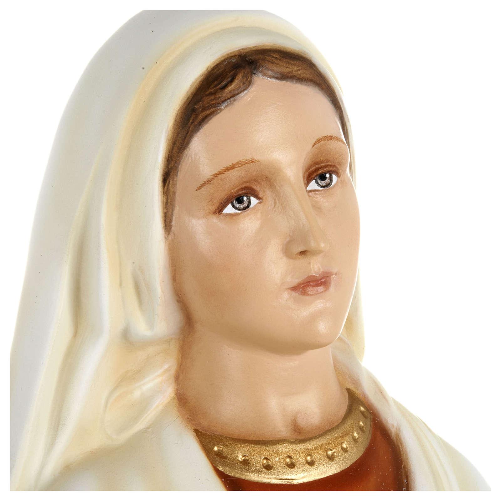 Estatua Santa Bernadette fiberglass 63 cm PARA EXTERIOR 4