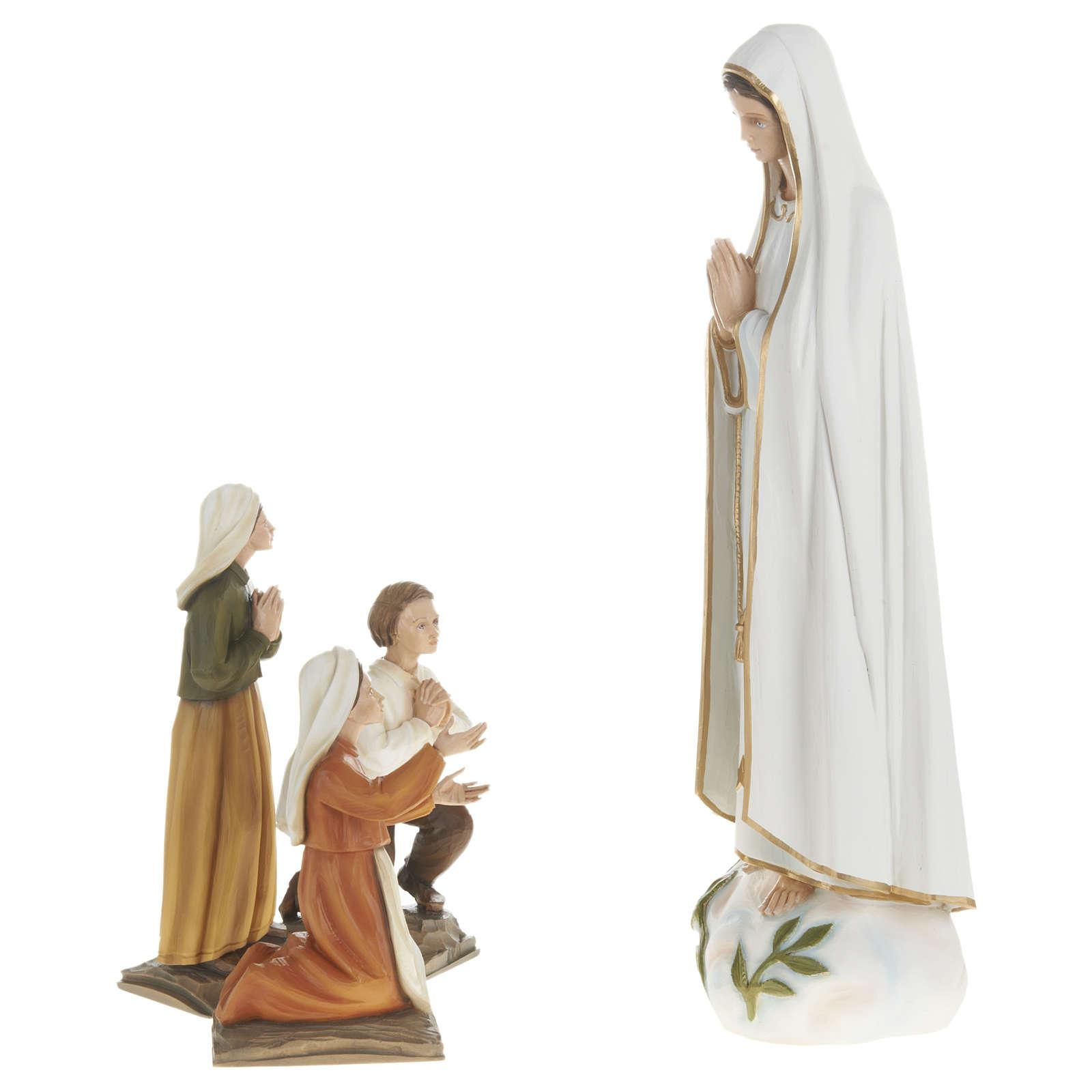 Statua Madonna Fatima 60 cm fiberglass PER ESTERNO 4