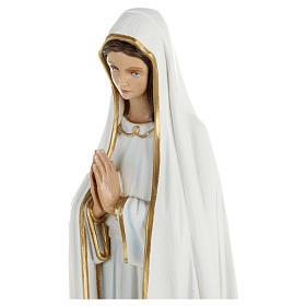 Statua Madonna Fatima 60 cm fiberglass PER ESTERNO s2
