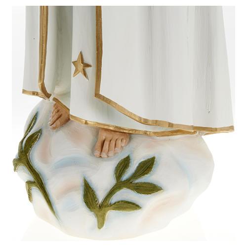 Nossa Senhora de Fátima 60 cm fibra de vidro PARA EXTERIOR 6