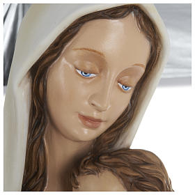Statue of Madonna with Child on Her Chest 80 cm FOR OUTDOORS s4
