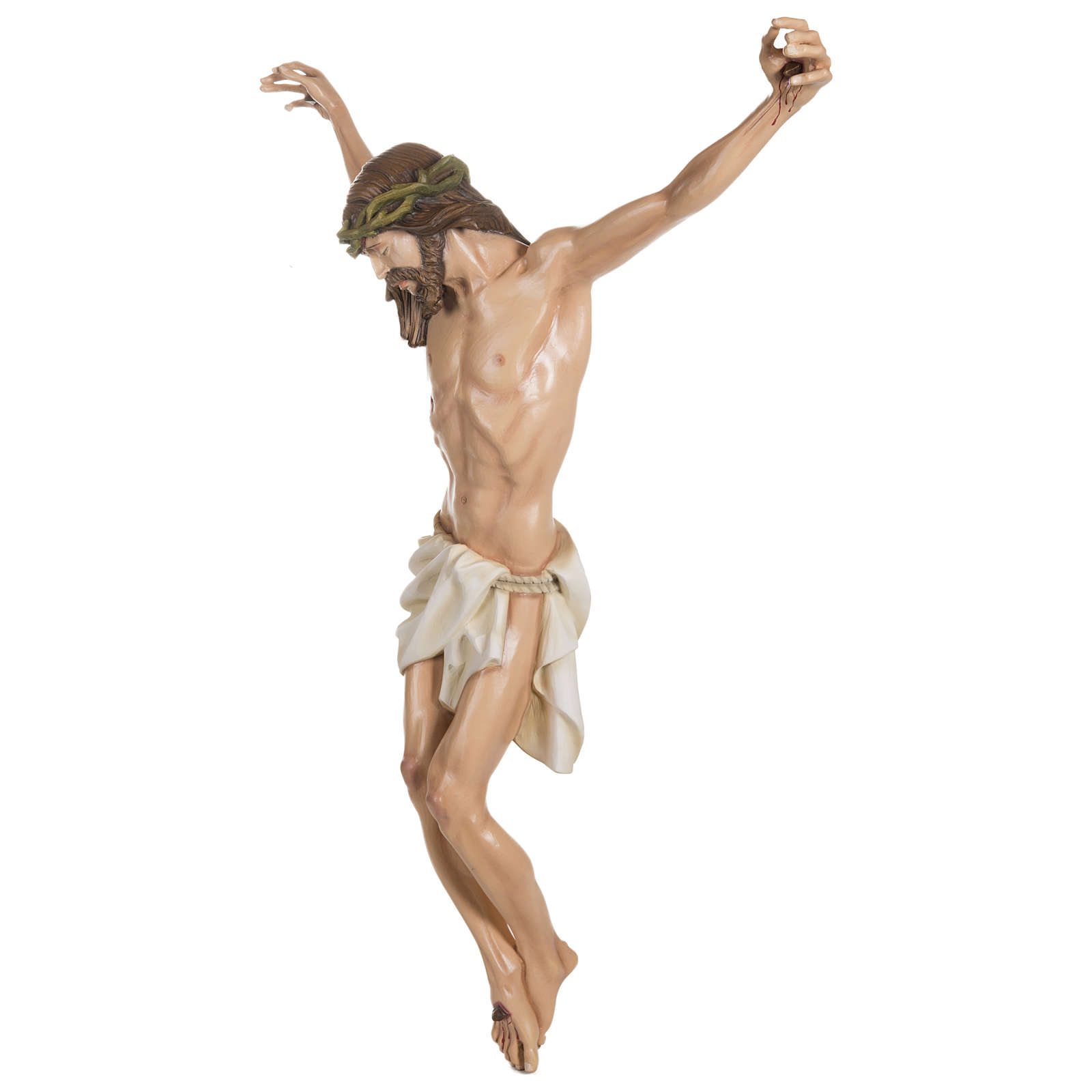 Body of Christ in fibreglass 100 cm for EXTERNAL USE 4