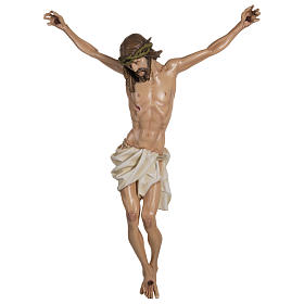 Body of Christ in fibreglass 100 cm for EXTERNAL USE s1