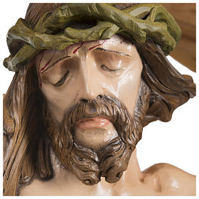 Body of Christ in fibreglass 100 cm for EXTERNAL USE s6