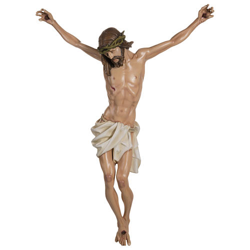 Body of Christ in fibreglass 100 cm for EXTERNAL USE 1