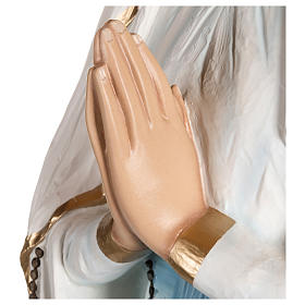 Estatua Virgen de Lourdes fibra de vidrio 130 cm PARA EXTERIOR s7