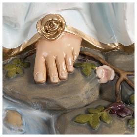 Estatua Virgen de Lourdes fibra de vidrio 130 cm PARA EXTERIOR s8