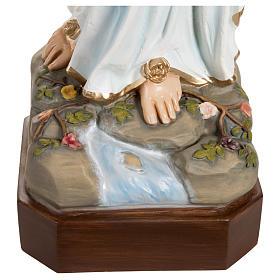 Estatua Virgen de Lourdes fibra de vidrio 130 cm PARA EXTERIOR s9