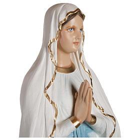Statua  Madonna di Lourdes vetroresina 130 cm PER ESTERNO s6