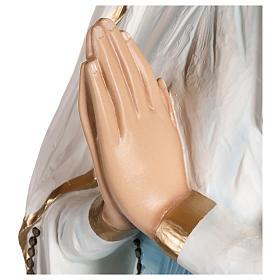 Statua  Madonna di Lourdes vetroresina 130 cm PER ESTERNO s7