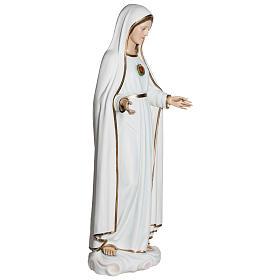 Estatua Virgen de Fátima 120 cm fiberglass PARA EXTERIOR s8