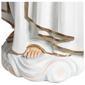 Statue Notre-Dame de Fátima 120 cm fibre de verre POUR EXTÉRIEUR s11
