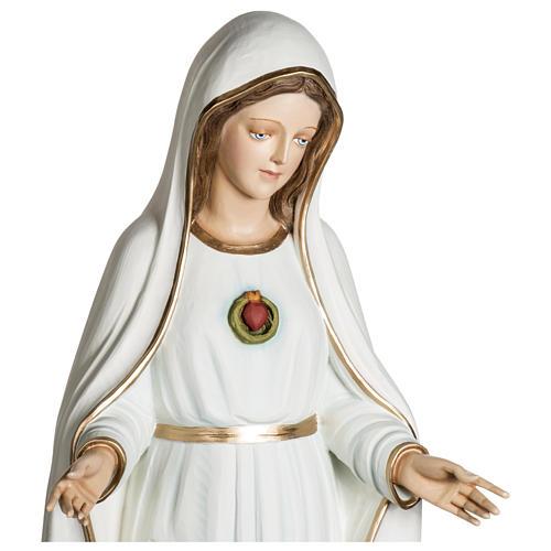 Statue Notre-Dame de Fátima 120 cm fibre de verre POUR EXTÉRIEUR 3