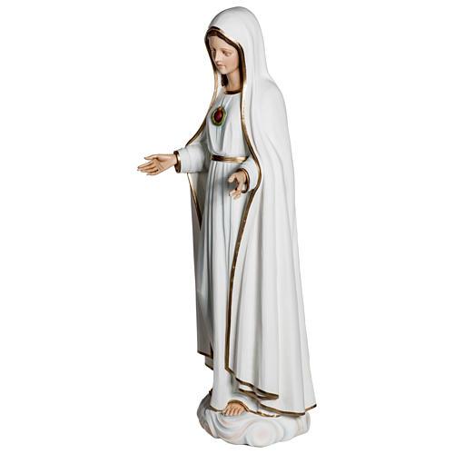 Statue Notre-Dame de Fátima 120 cm fibre de verre POUR EXTÉRIEUR 5