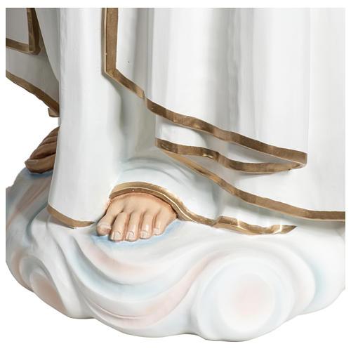 Statue Notre-Dame de Fátima 120 cm fibre de verre POUR EXTÉRIEUR 11