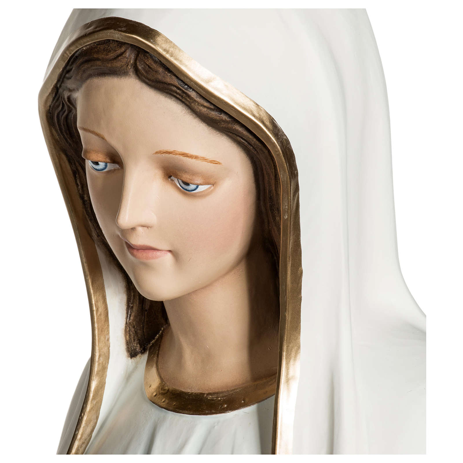Statua Madonna di Fatima 120 cm fiberglass PER ESTERNO 4