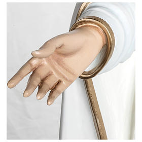 Statua Madonna di Fatima 120 cm fiberglass PER ESTERNO s6