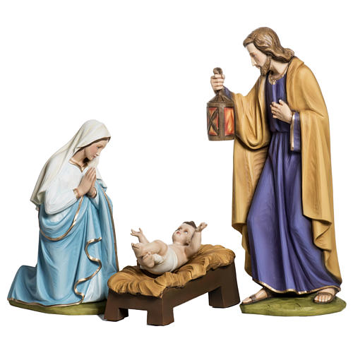 Holy Family in fibreglass 60 cm for EXTERNAL USE 1