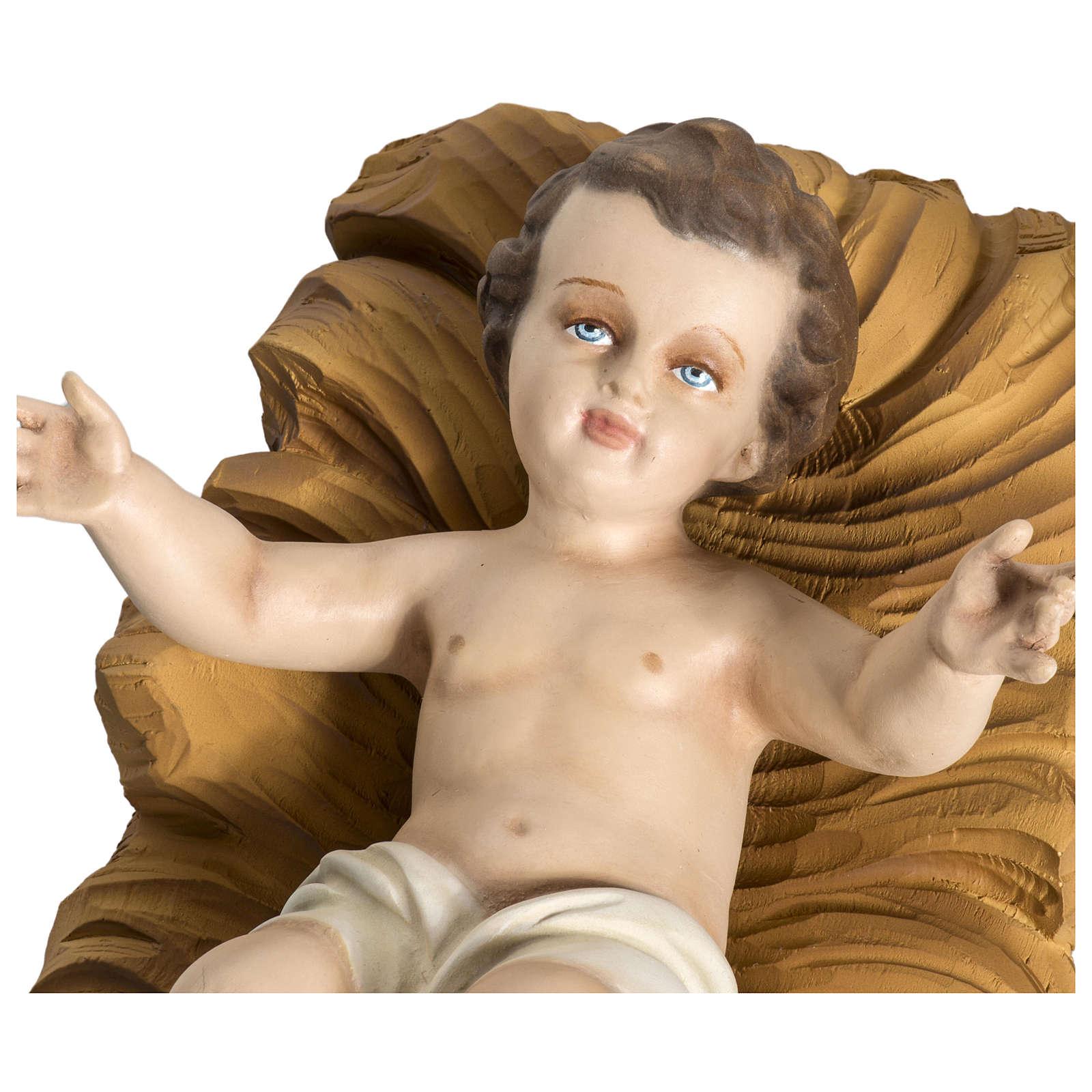 Statua Natività 60 cm fiberglass PER ESTERNO 4