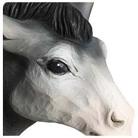 Nativity Ox and Donkey Fiberglass Statues, 60 cm FOR OUTDOORS s5