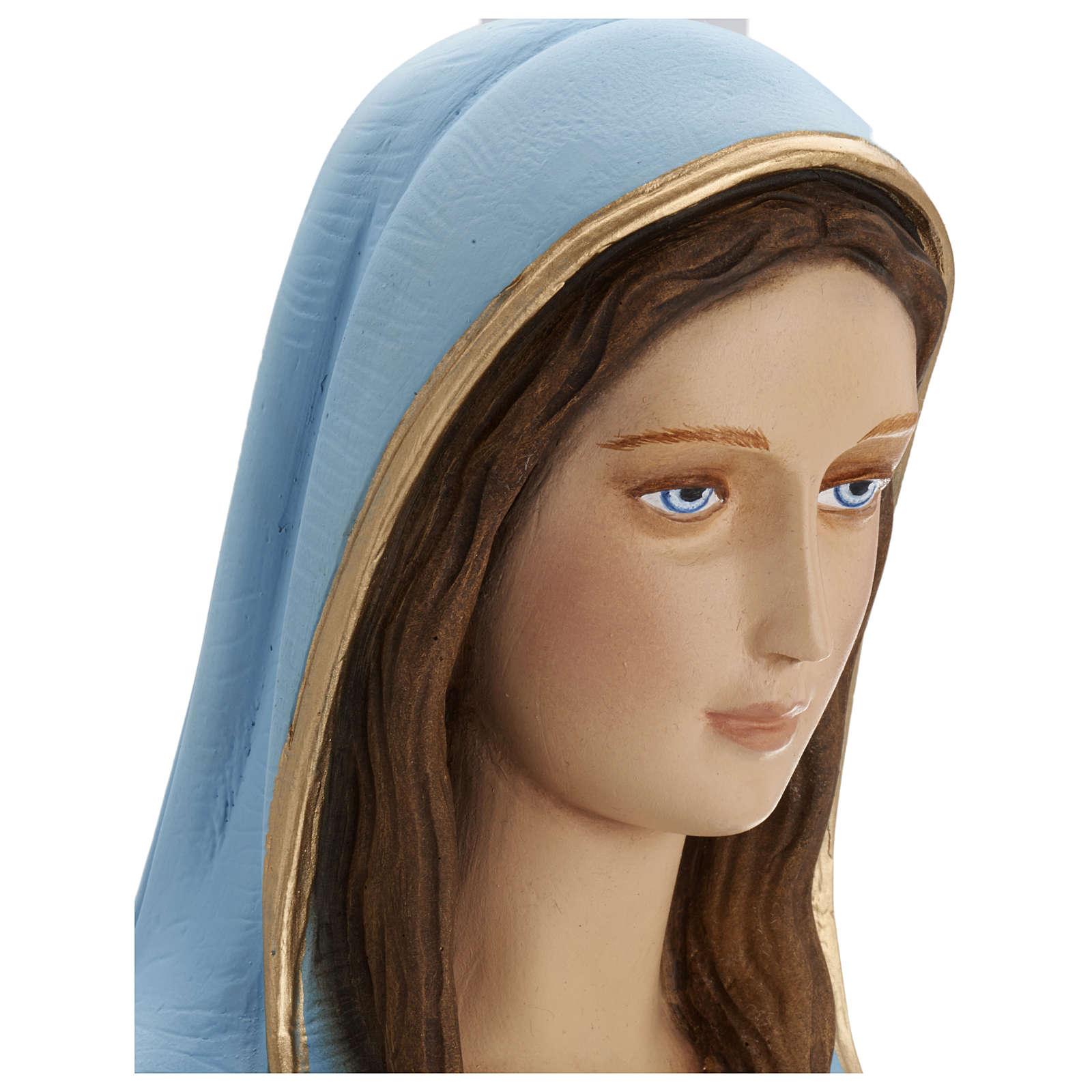 Statua Madonna Miracolosa 80 cm fiberglass PER ESTERNO 4