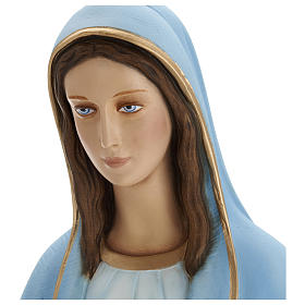 Statua Madonna Miracolosa 80 cm fiberglass PER ESTERNO s2