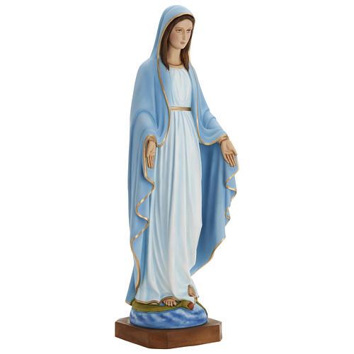 Statua Madonna Miracolosa 80 cm fiberglass PER ESTERNO 3