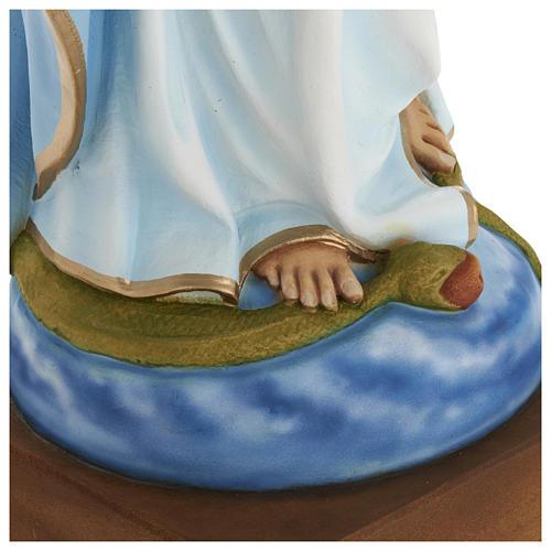 Statua Madonna Miracolosa 80 cm fiberglass PER ESTERNO 6