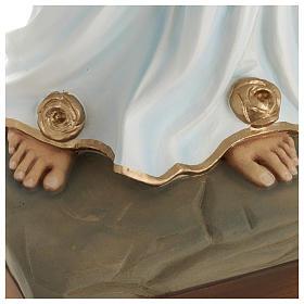 Statue Notre-Dame de Lourdes 85 cm en fibre de verre POUR EXTÉRIEUR s6